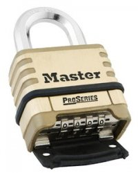 Master #1175 Brass Combination Padlock