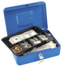 Master #7112D Locking Cash Box