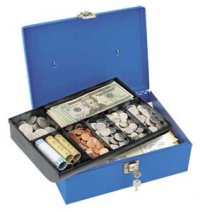 Master #7113D Locking Cash Box