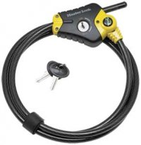 Master Python Adjustable 6' Cable Lock