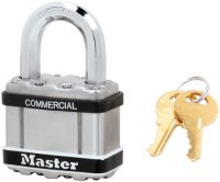 Master #M5STS - Magnum Padlock w/Stainless Cover - Keyed Alike