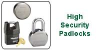 High-Security Padlocks