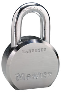 Master #6230 Solid Steel Padlock with K1 Cylinder
