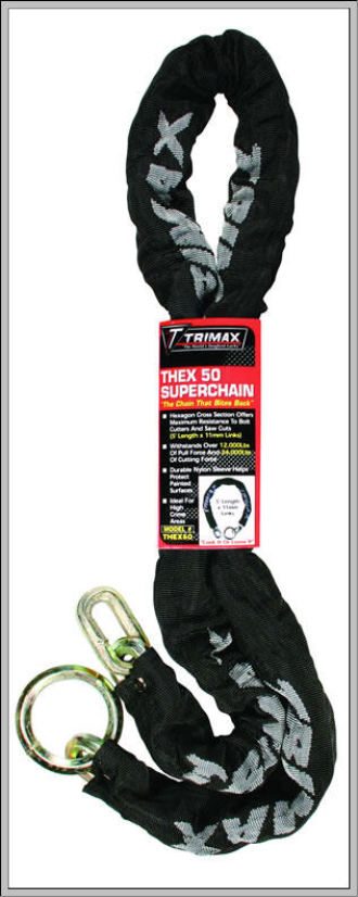 "Trimax THEX50 ""T-HEX"" Security Chain"